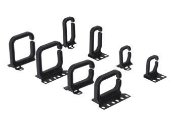 Cable bracket 40 x 50 mm for vertical cable guiding