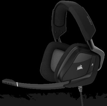 Слушалки с микрофон Corsair Gaming™ VOID PRO RGB USB Premium Gaming Headset with Dolby® Headphone 7.1 with 50mm Drivers, Carbon Black (EU Version)