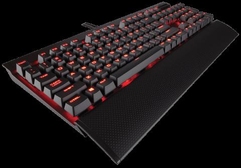 Клавиатура Corsair Gaming™ K70 LUX Mechanical Gaming Keyboard -Red LED -Cherry MX Blue (US)