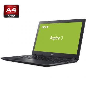 """РАЗПРОДАЖБА! NB Acer Aspire 3 A315-21G-42EZ /15.6"""" FHD Antiglare/AMD DUAL Core A4-9120 (2.2GHz-2.5GHz, 1MB L2 Cache) (7th Gen)/AMD Radeon™ 520 2GB GDDR5/8GB(2x4GB) DDR4/1000GB+(m.2 slot SSD free)/W/o ODD/802.11 ac/2CELL/LINUX, Obsidian Black"""
