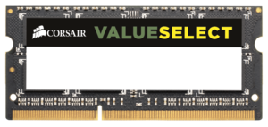 Памет Corsair DDR3, 1333MHz 4GB 1x204 SODIMM 1.5V, Unbuffered