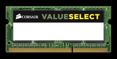 Памет Corsair DDR3L, 1600MHZ 4GB 1x204 SODIMM 1.35V (low voltage), Unbuffered