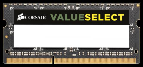 Памет Corsair DDR3, 1600MHZ 8GB 1x204 SODIMM 1.5V, Unbuffered