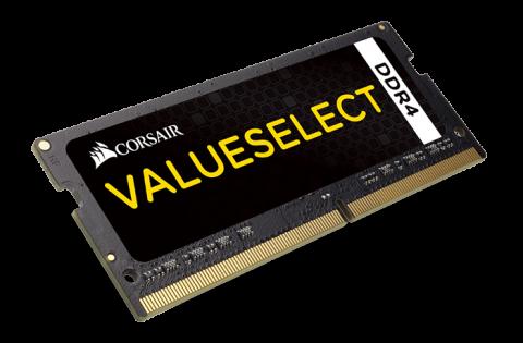 Памет Corsair DDR4, 2133MHZ 8GB (1 x 8GB) 260 SODIMM 1.20V, Unbuffered,15-15-15-36, Intel 6th Generation Core Processors