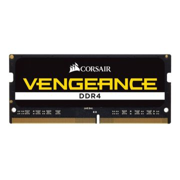 Памет Corsair DDR4, 2666MHz 16GB (1 x 16GB) 260 SODIMM, Unbuffered, 18-19-19-39