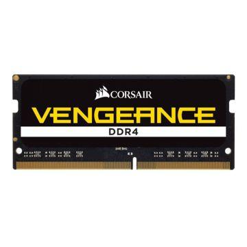 Памет Corsair DDR4, 2666MHz 8GB (1 x 8GB) 260 SODIMM, Unbuffered, 18-19-19-39