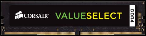 Памет Corsair DDR4, 2400MHZ 4GB (1 x 4GB) 288 DIMM 1.20V, Unbuffered, 16-16-16-39, Intel 7th Gen and AMD Ryzen motherboards
