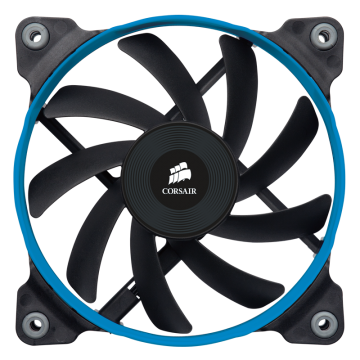 Вентилатор за кутия Corsair Fan AF120 Low noise high airflow fan, 120 mm x 25 mm, 3 pin, Single Pack