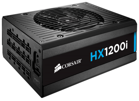 Захранване Corsair PSU Corsair HX Series 1200i Watt 80+ Platinum, Fully Modular, EU Version (10 years warranty)