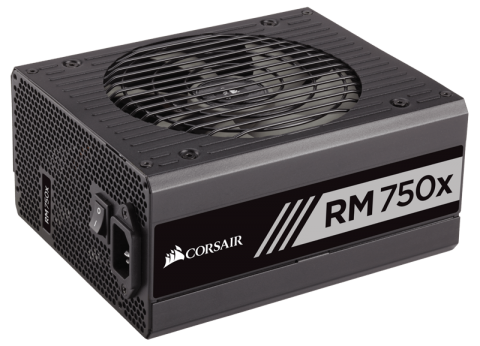 Захранване Corsair RMx Series RM750x Power Supply, Fully Modular 80 Plus Gold 750 Watt, EU Version (10 years warranty) NEW