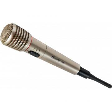 Defender Караоке микрофон MIC-140, Metal, range 15 m