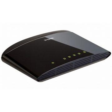 Суич D-Link DES-1005D/E неуправляем 5-Port 10/100Mbps Fast Ethernet Unmanaged Switch комутатор