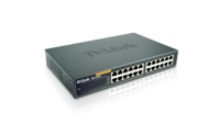 Суич D-Link DES-1024D/E неуправляем 24-Port 10/100Mbps Fast Ethernet Unmanaged Switch комутатор