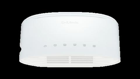 D-Link DGS-1005D/E  5-port 10/100/1000 Gigabit Desktop Switch