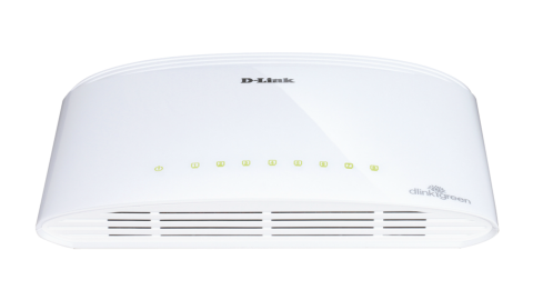Суич D-Link DGS-1008D/E  8-port 10/100/1000 Gigabit Desktop Switch