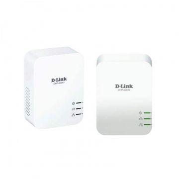 Адаптер D-Link DHP-601AV/E PowerLine AV2 1000 HD Gigabit Starter Kit