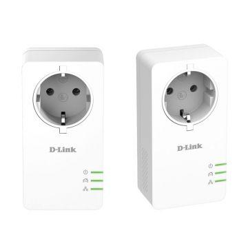 Адаптер D-Link DHP-P601AV/E PowerLine AV2 1000 HD Gigabit Starter Kit