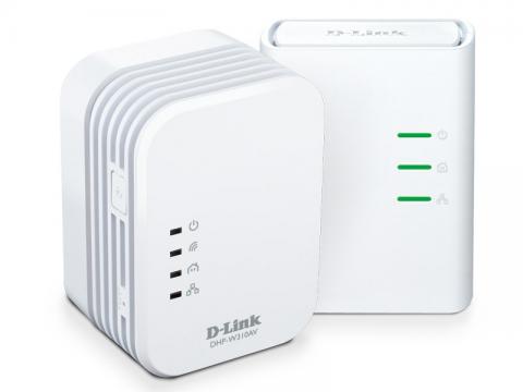 Адаптер D-Link DHP-W311AV/E PowerLine AV 500 Wireless N Extender