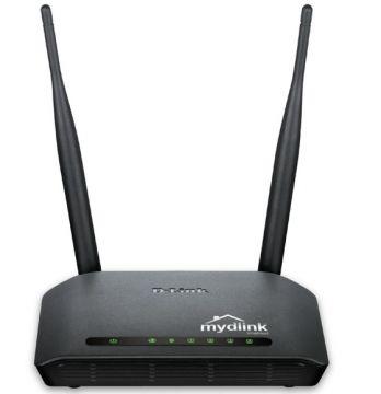 Безжичен рутер D-Link DIR-605L/E с възможност за дистанционен достъп Wireless N Cloud Router w/ 4 Port 10/100 Switch маршрутизатор 300 мегабитов с 5 децибелови антени