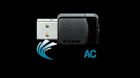 Wireless AC DualBand USB Micro Adapter