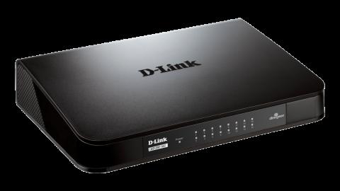 Комутатор D-Link GO-SW-16G/E 16-Port 10/100/1000Mbps Copper Gigabit Ethernet Switch