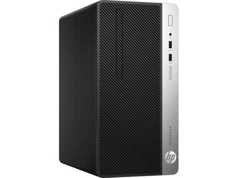 HP ProDesk 400 G4 MT Intel Core i37100 with HD Graphics 630 4 GB DDR4-2400 SDRAM (1 x 4 GB) 500 GB HDD 7200 rpm DVD/RW Windows 10 Pro 64,1 year warranty