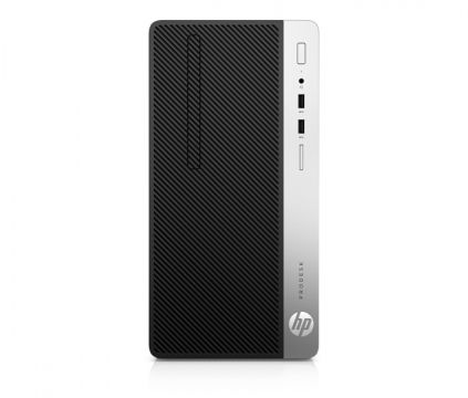 HP ProDesk 400G4 MT Intel® Core™ i5-7500 with Intel HD Graphics 630 (3.4 GHz, up to 3.8 GHz with Intel Turbo Boost, 6 MB cache, 4 cores) 8 GB DDR4-2133 SDRAM (1 x8 GB) 1TB HDD 7200 rpm DVD/RW Windows 10 Pro 64,1 year warranty
