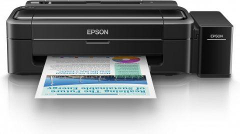 Inkjet Printer L310, 4 Ink Cartridges, YCMK, Print, Manual, 5,760x1,440dpi, 69Secondsper 10 x 15 cm photo (Epson Premium Glossy Photo Paper), 33Pages/minMonochrome (plain paper), 15Pages/minColor (plain paper), 100SheetsStandard, 100Sheetsmax