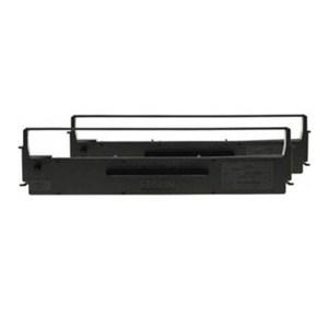 Ribbon Black EPSON doublepack for LX-350/LX-300/+/+II, (S015637 x 2), 4 million characters