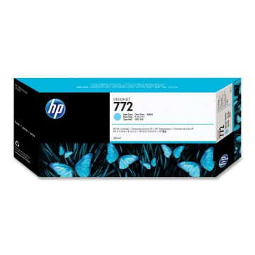 Консуматив HP 772 Standard 1-Pack Original Ink Cartridge; Light Cyan;  ; HP DesignJet Z5200