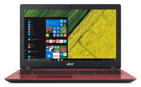 "NB Acer Aspire 3 A315-51-P4YA RED/15.6"" FHD Antiglare Acer ComfyView™ / Intel® Pentium® 4415U Dual-Core (up to 2.30GHz, 2MB)/1x4GB DDR4/1000GB/ W/o ODD/802.11 ac/2CELL/LINUX, Oxidant Red"