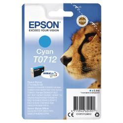 Ink Cartridge EPSON T0712 Cyan Cartridge