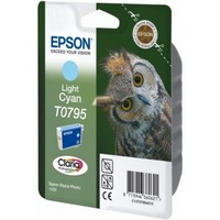 Ink Cartridge EPSON Light Cyan for Stylus Photo R1400 / P50