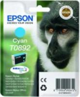 Ink Cartridge EPSON T0892 Cyan for Stylus S20/SX100/SX105/SX200/SX205/210/215/218/SX400/SX405/415; Stylus Office BX300F