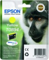 Ink Cartridge EPSON T0894 Yellow  for  Stylus S20/SX100/SX105/SX200/SX205/210/215/218/SX400/SX405/415; Stylus Office BX300F