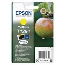 Ink Cartridge EPSON Yellow for Stylus SX420W/SX425W/SX525WD/BX305F/BX320FW/BX625FWD, 11,2 ml