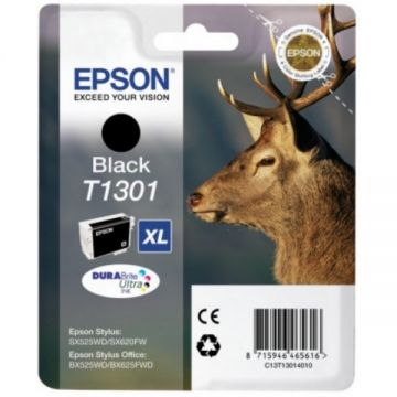 Ink Cartridge EPSON Black T1301 DURABrite Ultra Ink