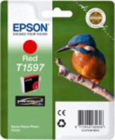 Ink Cartridge EPSON T1597 Red for Epson Stylus Photo R2000