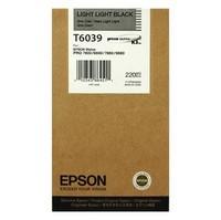 Ink Cartridge EPSON Light Light Black, 220ml for Stylus Pro 7800/7880/9800/9880