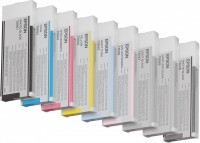 Ink Cartridge EPSON Light Cyan for Stylus Pro 4800/4880, 220 ml.