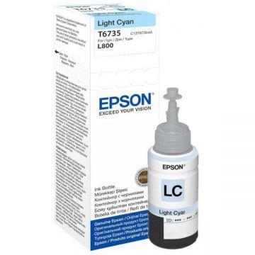 Ink Cartridge EPSON T6735, 6 colour ink bottles, Singlepack, 1 x 70.0mlLight Cyan