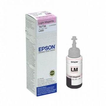 Ink Cartridge EPSON T6736, 6 colour ink bottles, Singlepack, 1 x 70.0mlLight  Magenta