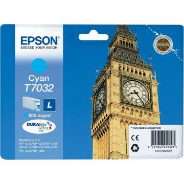 Ink Cartridge EPSON for WP4000/4500/4525 Series Ink Cartridge L Cyan, 0.8k