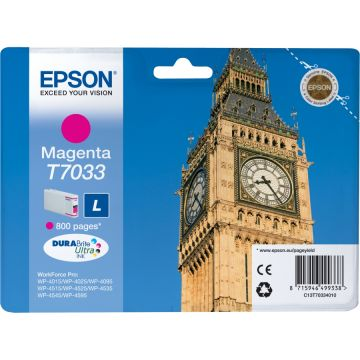 Ink Cartridge EPSON for WP4000/4500/4525 Series Ink Cartridge L Magenta, 0.8k