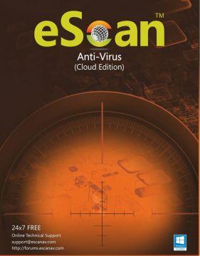 eScan Anti-Virus  with Cloud Security 1 user/1 year (For Windows) - Activate Link: http://www.escanav.com/en/antivirus-downloadlink/downloadproduct.asp?pcode=ES-AVv14