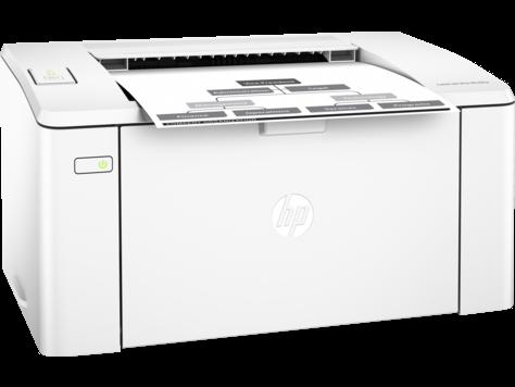 Принтер HP LaserJet Pro M102a A4; A5; A6; B5; 600 x 600 dpi 23 ppm  128MB 600 MHz  PCLmS, URF, PWG; USB 2.0