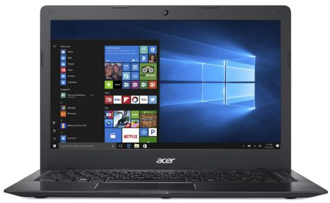"РАЗПРОДАЖБА! NB Acer Swift 1 SF114-31-P5L5 (Ultrathin, All-Metal Design)/14.0"" HD Acer ComfyView™/Intel®Pentium®Quad Core N3710 /1x4GB/128GB e-MMC/Intel HD Graphics/ 3CELL/LINUX/Obsidian Black"