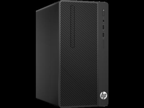 HP 290G1 MT Intel® Pentium® G4560 with Intel HD Graphics 610 (3.5 GHz, 3 MB cache, 2 cores) 4 GB DDR4-2400 SDRAM (1 x 4 GB) 500 GB 7200 rpm SATA HDD DVD/RW FREE DOS,1 year warranty