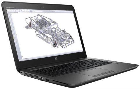 HP ZBook 14u G4 Intel® Core™ i7-7500U with Intel® HD Graphics 620 (2.7 GHz, up to 3.5 GHz with Intel® Turbo Boost Technology 2.0, 4 MB cache, 2 cores) 16 GB DDR4-2133 SDRAM (1 x 16 GB) 512 GB HP Z Turbo Drive PCIe SSD HDD  14 diagonal FHD UWVA anti-glare