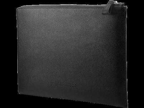 HP Elite13.3 Blk Leather Sleeve